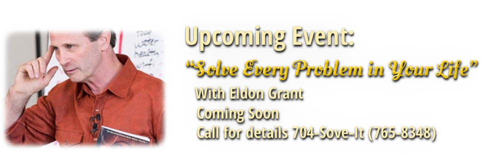 Eldon Grant Live Event Coming Soon